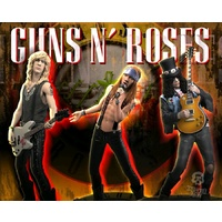 Guns 'N' Roses - Rock Iconz Statues Set of 3