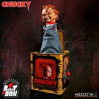 Child's Play - Scarred Chucky Burst-A-Box
