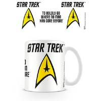 Star Trek - To Boldly Go Printed Mug