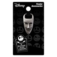 Nightmare Before Christmas Lock Pewter Lapel Pin