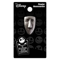 Nightmare Before Christmas Shock Pewter Lapel Pin