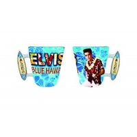 Elvis Hawaii Surfboard Handle Mug