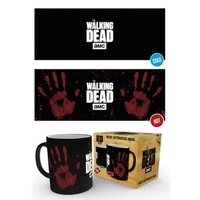 The Walking Dead Hand Print HEAT CHANGING Mug