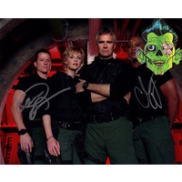 SG-1 Autograph Corin Nemic & Chris Judge #1