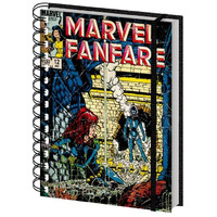 Marvel Comics - Black Widow Retro A5 Hardcover Notebook