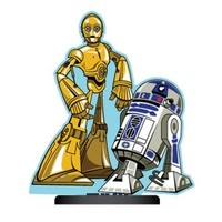 Star Wars C-3PO and R2-D2 Shorty Paper Air Freshener