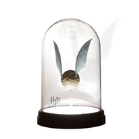 Harry Potter Golden Snitch Bell Jar Light