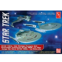 Star Trek The Motion Picture Set Cadet Series (3 in 1) 1:2500 Scale Model Kit