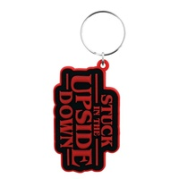 Stranger Things - Stuck in the Upside Down Keychain