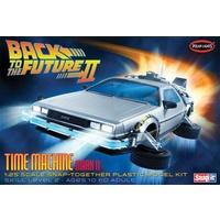 Back to the Future Part II: Time Machine 1:25 Snap-together Plastic Model Kit