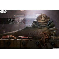 Star Wars - Jabba the Hutt & Throne 1:6 Action Figure (Free Shipping)