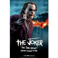 Batman: The Dark Knight - Joker Premium Format 1:4 Scale Statue (Free Shipping)