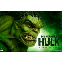 Hulk - Incredible Hulk Life-Size Bust 1:1 Scale (Free Shipping)