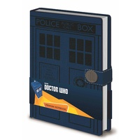 Doctor Who - Tardis Hardcover A5 Notebook