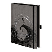 Nightmare Before Christmas (Moonlight Madness)  Premium A5 Notebook