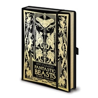 Fantastic Beasts The Crimes of Grindelwald Premium A5 Notebook