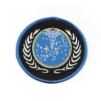 Star Trek  The Next Generation UFP Medical Logo Patch