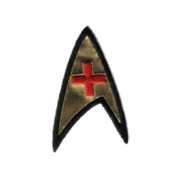 Star Trek Classic TV Series Medical Operations Foil Patch