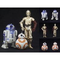 STAR WARS R2-D2 & C-3PO with BB-8