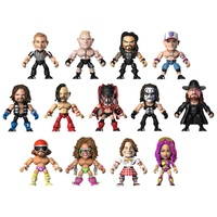 WWE 3″ Articulated Action Vinyls Blind Window Box