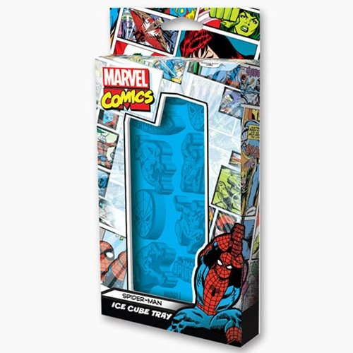 Spider-Man Marvel Poses Ice Cube Tray