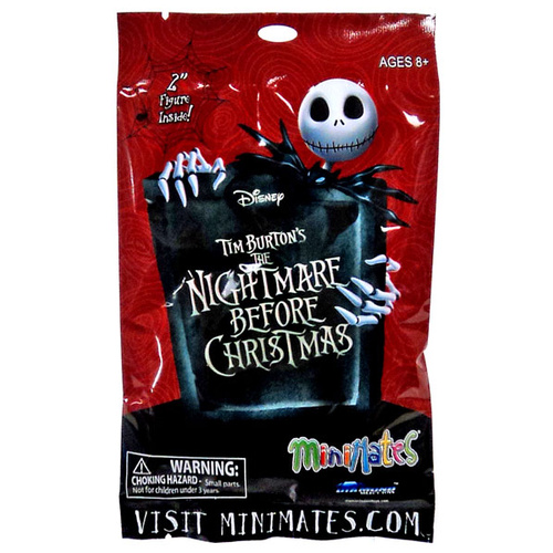 Mystery Pack NBC Nightmare Before Christmas Minimates Series 1